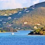 houses on the hills in the BVI