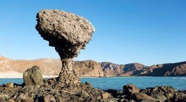 rock formation in la paz