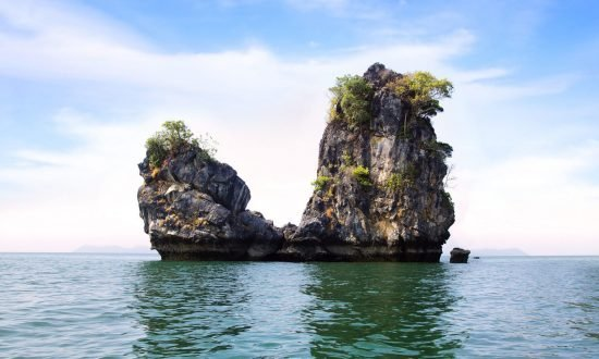 large rock formations