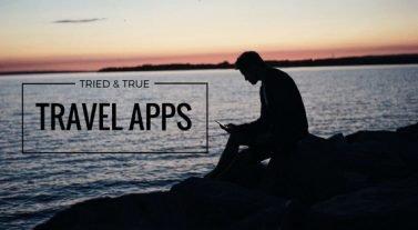 travel apps photo