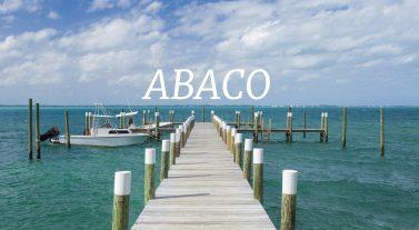 boat docked in abaco