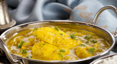 curry with fish