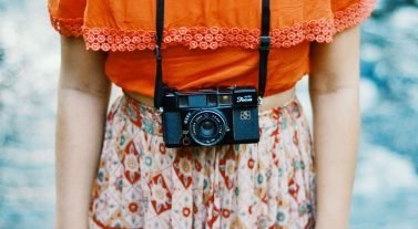 photos - photo of woman with camera