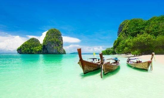 Традиционные лодки в Таиланде, яхтинг на Пхукете