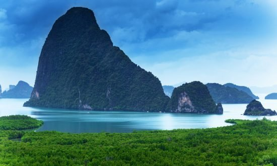 Вид на море Пханг-Нга Таиланд