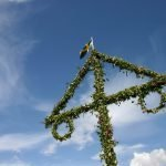 Top of the Maypole for Midsummer