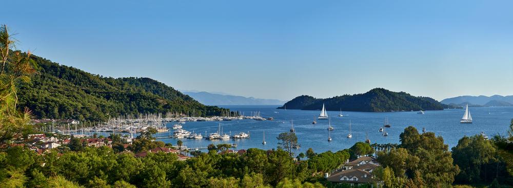 baie de gocek-croisière en Turquie - Dream Yacht Charter