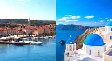 croisière en grèce vs croisière en croatie Dream Yacht Charter