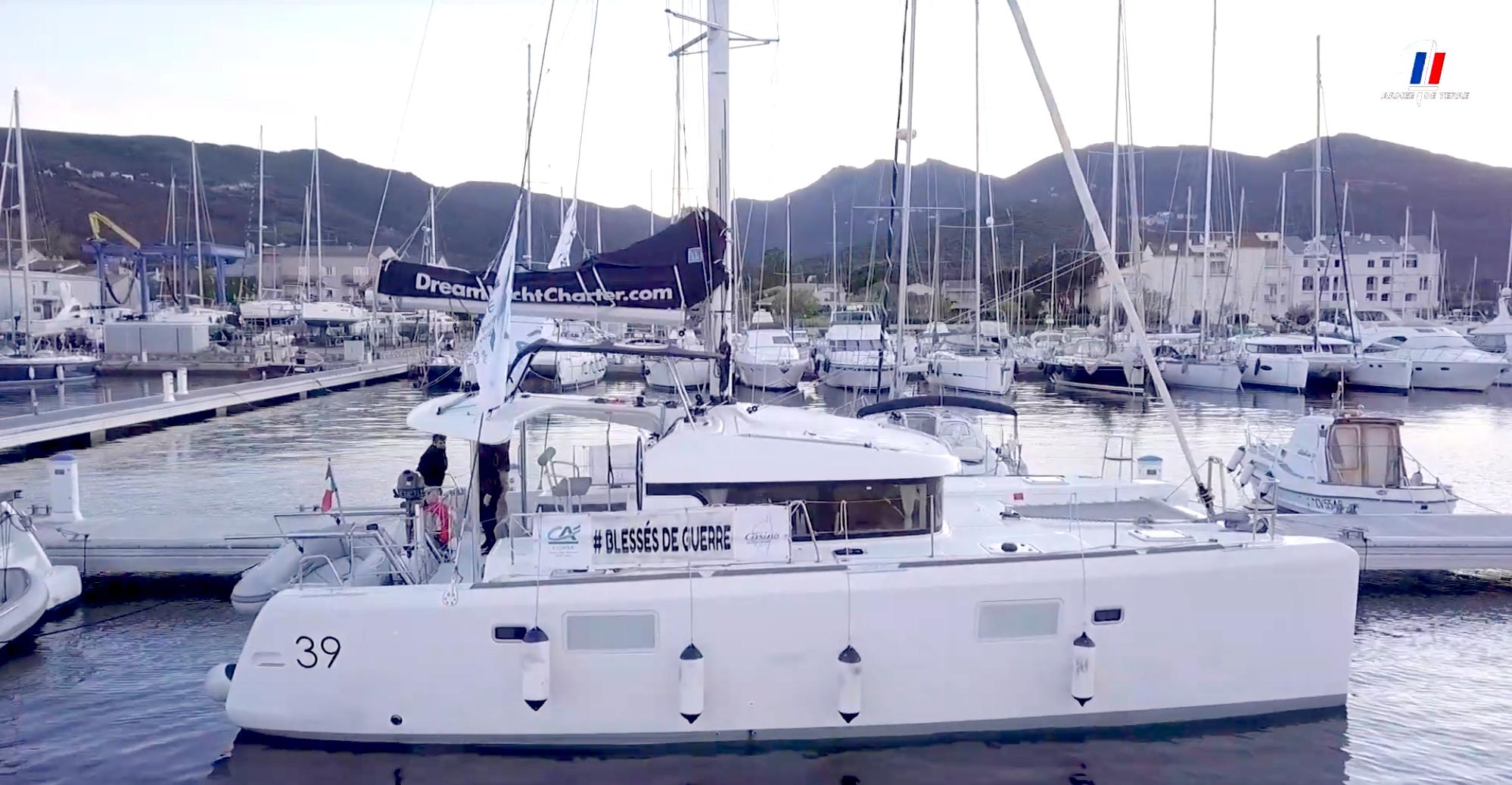 Des blessés de guerre ont navigué à bord de bateaux Dream Yacht Charter