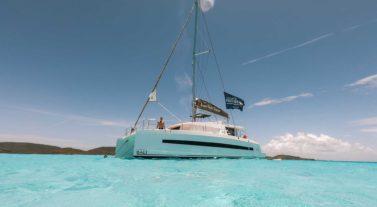 catamaran sailing ocean