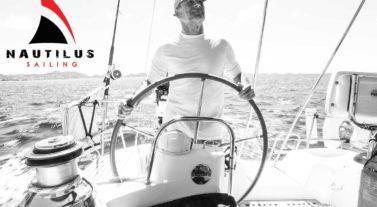 Nautilus sailor at the helm