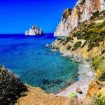 scenic Mediterranean snorkeling spot
