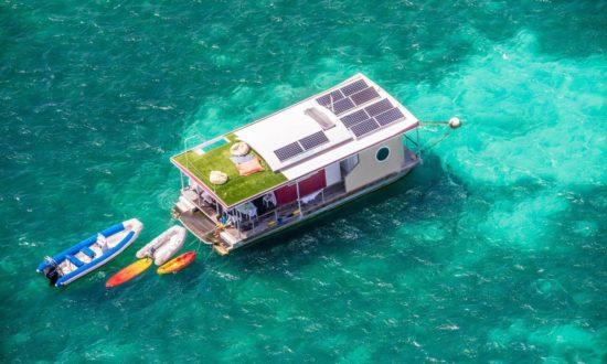 Aqualodge – drijvende villa's