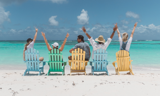 beach chairs Anegada