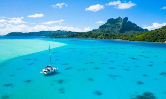 DYC boat in Tahiti