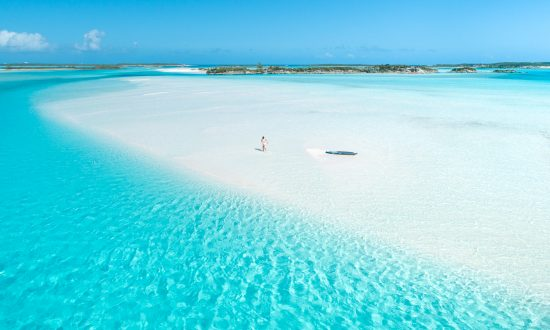 Turquoise waters Bahamas