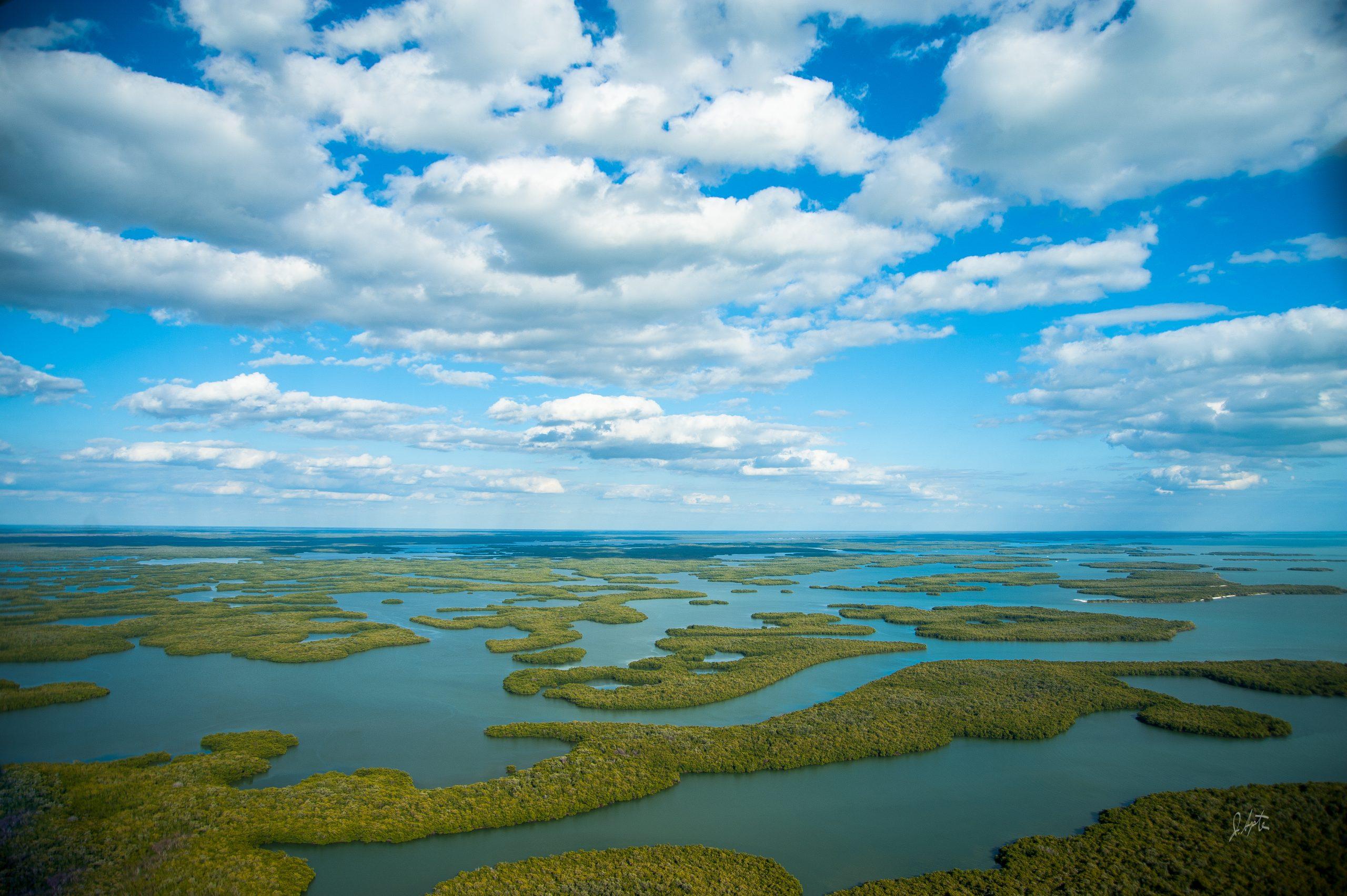 Florida Keys above shot