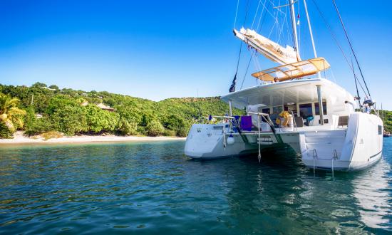 Boat in Antigua