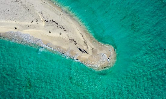 sand spit Florida Keys