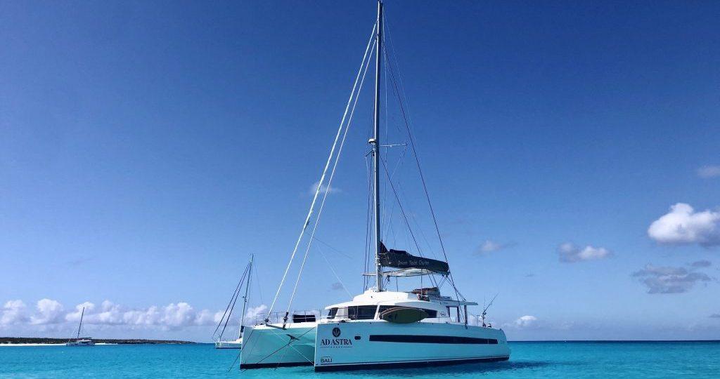 Bali 5.4 sailing in Caribbean