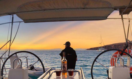 Sunset La Paz Mexico